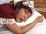 Cute Japanese Maid Sucks And Fucks Her Boss DM720
