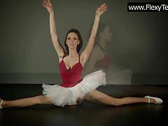 Ciasna balerina cipki Petino