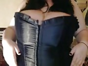 Big Tit Girl in Corset (Softcore )