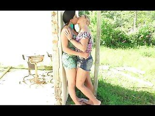 .super hot babes very hot kisses.
