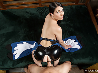 Pov Teen Small Tits video: VRCosplayX FINAL FANTASY Fuck With Lustful Rinoa