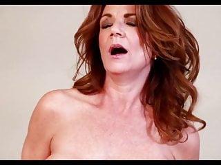 Milf Lesbian European video: Two mature busty lesbians