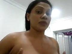 Srilankan tía Selfie