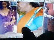 desi banulatha with 2 big boobs friends