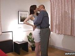 Japanese Woman, Noeru Mitsushima Is Cuckold On Her Husband,