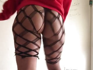 Stockings Softcore Big Ass video: Ugly with a phat ass