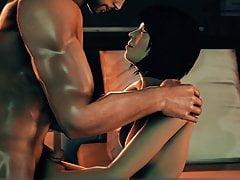 Mass Effect Kasumi odwiedza Sheparda