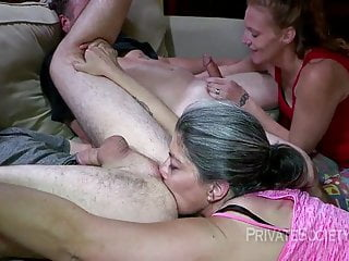 Group Sex Swingers Redhead video: Dirty Wanda And Filthy Rhonda