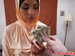 POV amateur follado musulmán toma semen en la boca
