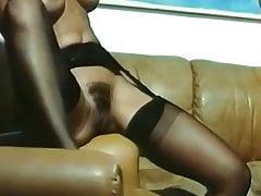 sexo vintage en medias