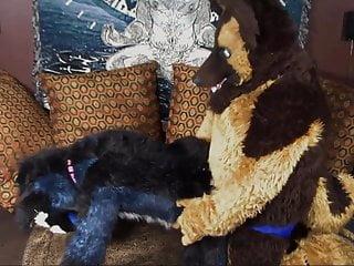 Two Gay Furries Fucking 4