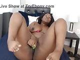 Posh sexy ebony luxury girl with young booty and slim waist