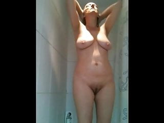 Voyeur Big Tits video: In the Shower 2