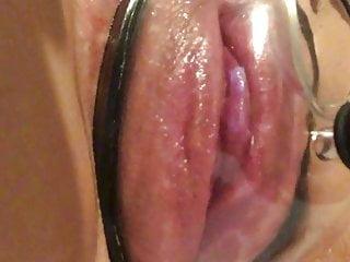 Bbw Fingering Small Tits video: Bbw pussy pump play