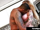 Inked Babe Payton Sin Claire Tries Cooking But Gets BBC!