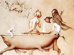 Il realismo immaginario erotico di Michael Parkes