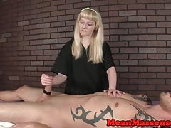 Dominante Masseurin Roping Subs Hahn