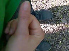 Handjobs v lese od manželky ne