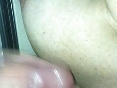wifey blasen und sperma auf titten