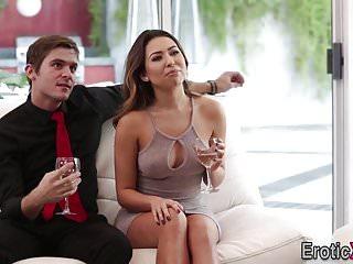 Blowjobs Group Sex movie: Babes swap cum in fourway