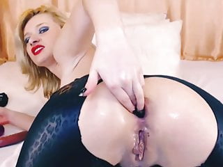 Amateur Double Penetration Blonde video: In Both Holes