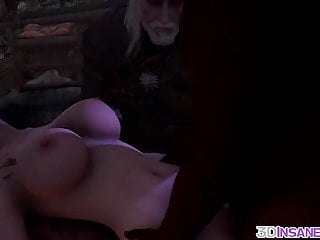Brunette babe taking BBC in her wet pussy