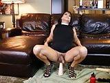 sexy stephanie cd takes a fist