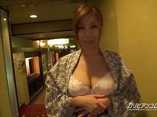 CHIHIRO AKINO日本旅館CARIBBEANCOM曝光
