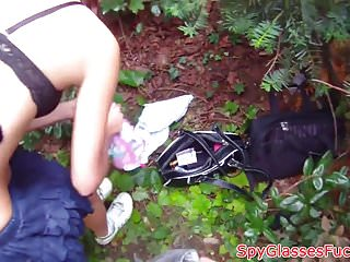 Hidden Cams Pov Petite video: Petite euro filmed on spycam in public