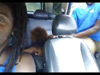Public Nudity Black Outdoor video: MET HER IN THE PARKING LOT