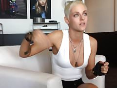 Kristen Stewart Short Haired Interview