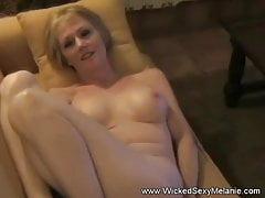 POV With Horny Granny Melanie