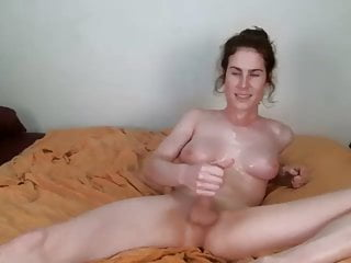 Masturbation Shemale Webcam Shemale Solo Shemale video: sweaty cumshot