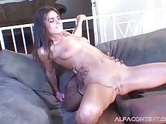 Blazing Super-fucking-hot Dark Haired Honey Ruined By A Bbc
