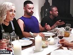 Men.com - Stig Andersen i Teddy Torres - The Dinner Party