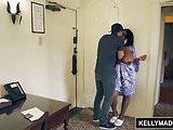 KELLY MADISON - Cheating Ebony Maserati Craves White Cock