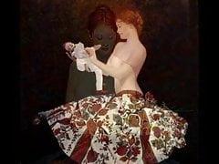 Dipinti erotici di Andrzej Malinowski