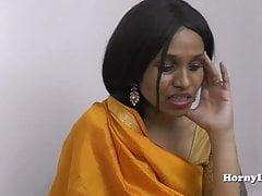 HornyLily's Hochzeitsnacht Hindi Pov Rollenspiel