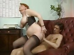 Deutsche Reife BBW KIRA RED DOUBLE PENETRATION PARTY