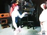 Mistress Kicking A Slsves Balls