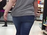 Thick Teen Ass Sexy Walking in Jeans