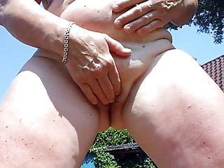Sex Big Cock Pussy video: Leeker buiten sex