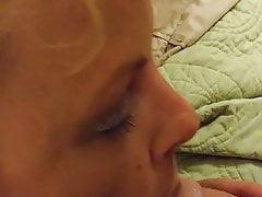 BlondeMary sucking strangers cock in myrtle beach