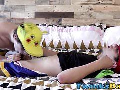 Pokemon twinks Kyle and Bryce Christiansen barebacking | Porn-Update.com