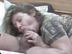 Mature Wife Gives Blowjob On Hidden Camera