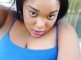 sexy black gir ldoing selfiee.mp4