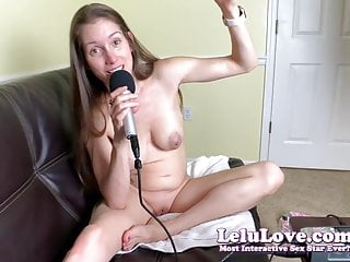 Pov Webcam Homemade video: Lelu Love- PODCAST: Ep170 1st REAL Farm Chore And Male Sexua