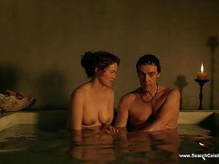 露西無法無天的裸體場景斯巴達克斯高清