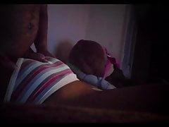 Kontwerk ebony tienerjong in slipje