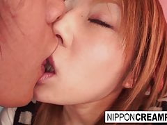 Sweet Japanese Babe Gets Fucked Point Of View Style